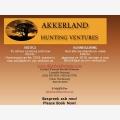 Akkerland Hunting Ventures - Logo